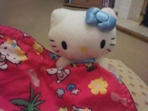 ♥ Hello Kitty Comfort Blankie ♥