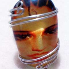 Flapper Girl Ring