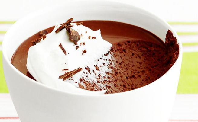 Chocolate Rum Pots De Creme
