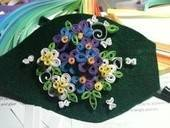 Quilled Hairpiece