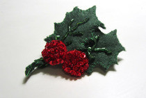 Holly Hair Clip
