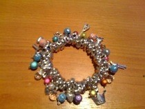 Simply Charming Kitsch Charm Bracelet
