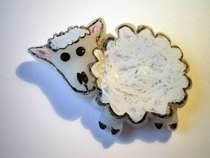 Polymer Clay Sheep
