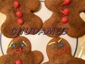 Funny Faced Gingerbread Men
