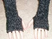 Fingerless Gloves From A Can