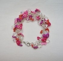 Valentine Button Bracelet