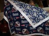 Nfl Two Team 2 Sided Blanket