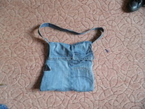 How To Make A Messenger Bag Out Of An Old Pair Of Pants