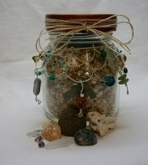Beachy Treasure Jar