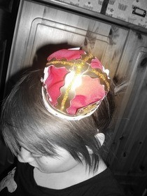Miniature Crown Headband