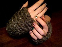 Quick Knit Wrist Warmers