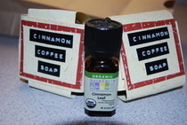 Cinnamon Coffee Soap