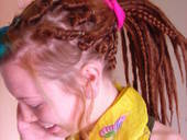 Synthetic Red Head Dreads