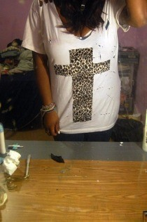 Destroyed Cross Tee