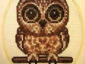 Cute Owl Cross Stitch