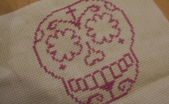 Sugarskull Cross Stitch