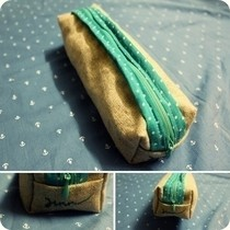 Square Pencil Case