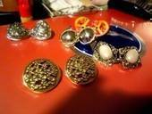 Easy Diy Button Earings