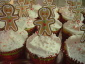 Christmas Holiday Cupcakes