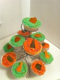 Goolish Halloween Cup Cakes/ Fairy Cakes 