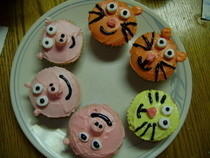 Animal Cupcakes!