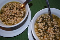 White Bean And Spinich Soup
