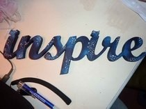 "Starry ""Inspire"" Decoration"