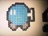 Super Mario Brothers Bomb Bomb Hama Bead