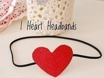 I Heart Headbands!