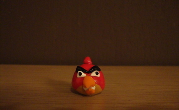 Angry Bird Made Of Fimo Clay