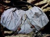 Old Shirt Into Shoulder Handbag