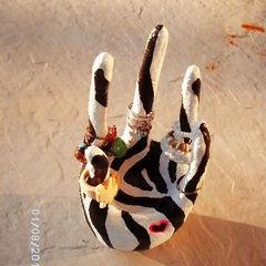 Zebra Hand Ring Display :)