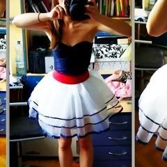 Retro Nautical Dress