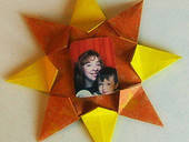 You Are My Sunshine, Origami Frame.