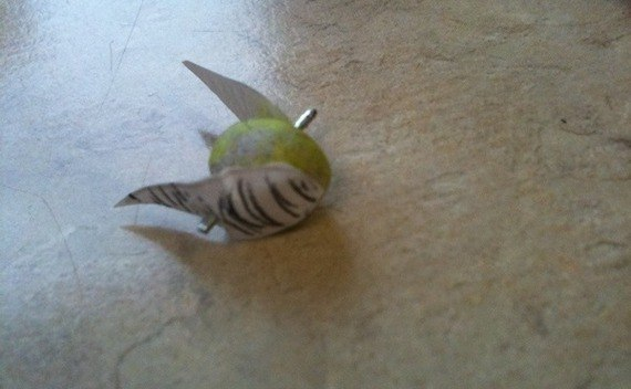 Golden Snitch From Office Supplies