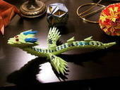 3 D Paper Module Baby Dragon
