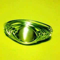 Herringbone Weave Ring