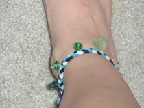 Braided Bead Anklet