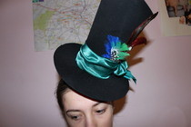 Fabulous Mad Hatter Hat