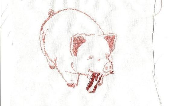 Bacon Eating Pig