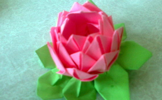 Lotus Flower / Spring Tutorial
