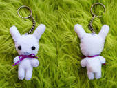 Bunny Keychain