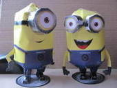Despicable Me Minion (Paper Craft)