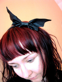 Cute Bat In Your Hair