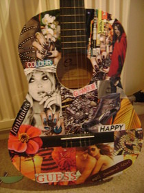 Collage Guitar