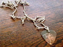 Taylor Swift Plectrum Necklace
