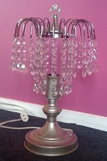 Make Over A Touch Lamp