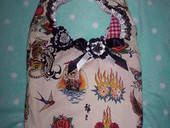 Tattoo Lace Slouch Bag :)