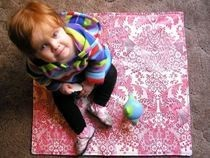 Make An Oilcloth Picnic Mat For Your Toddler