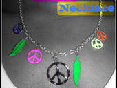 Colorful Peace Necklace